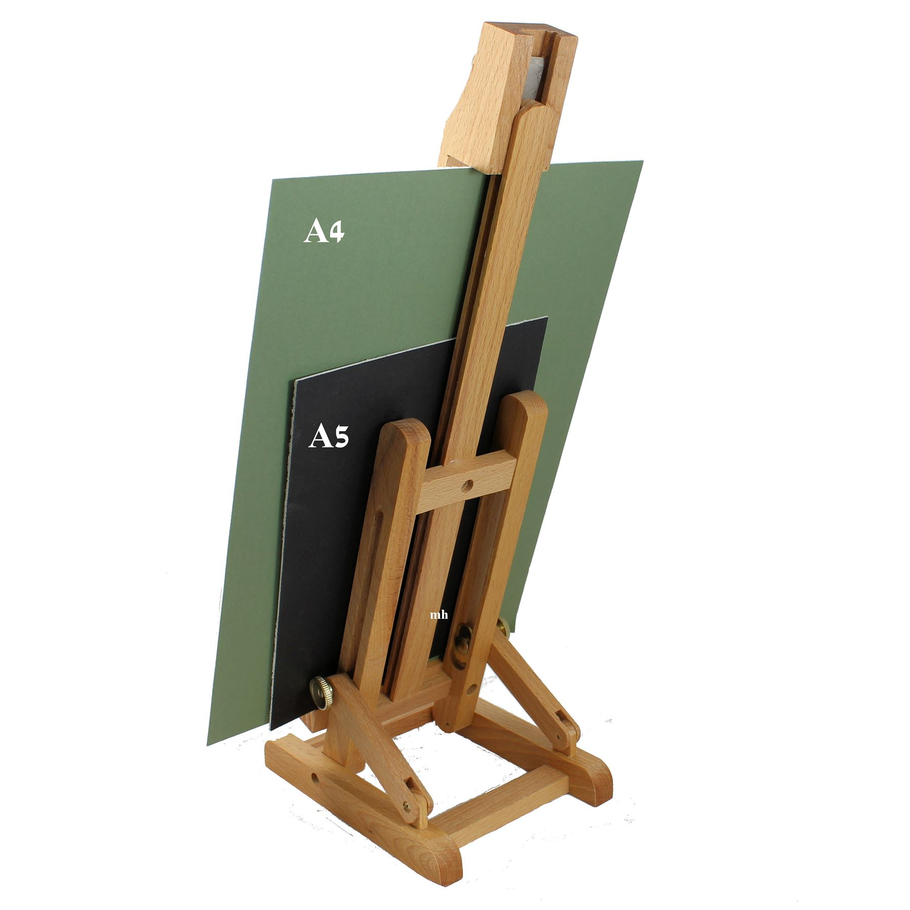 UK 40cm//50cm A4//A3 Table Top Display Artist Art Easel Craft Wooden Wedding Stand