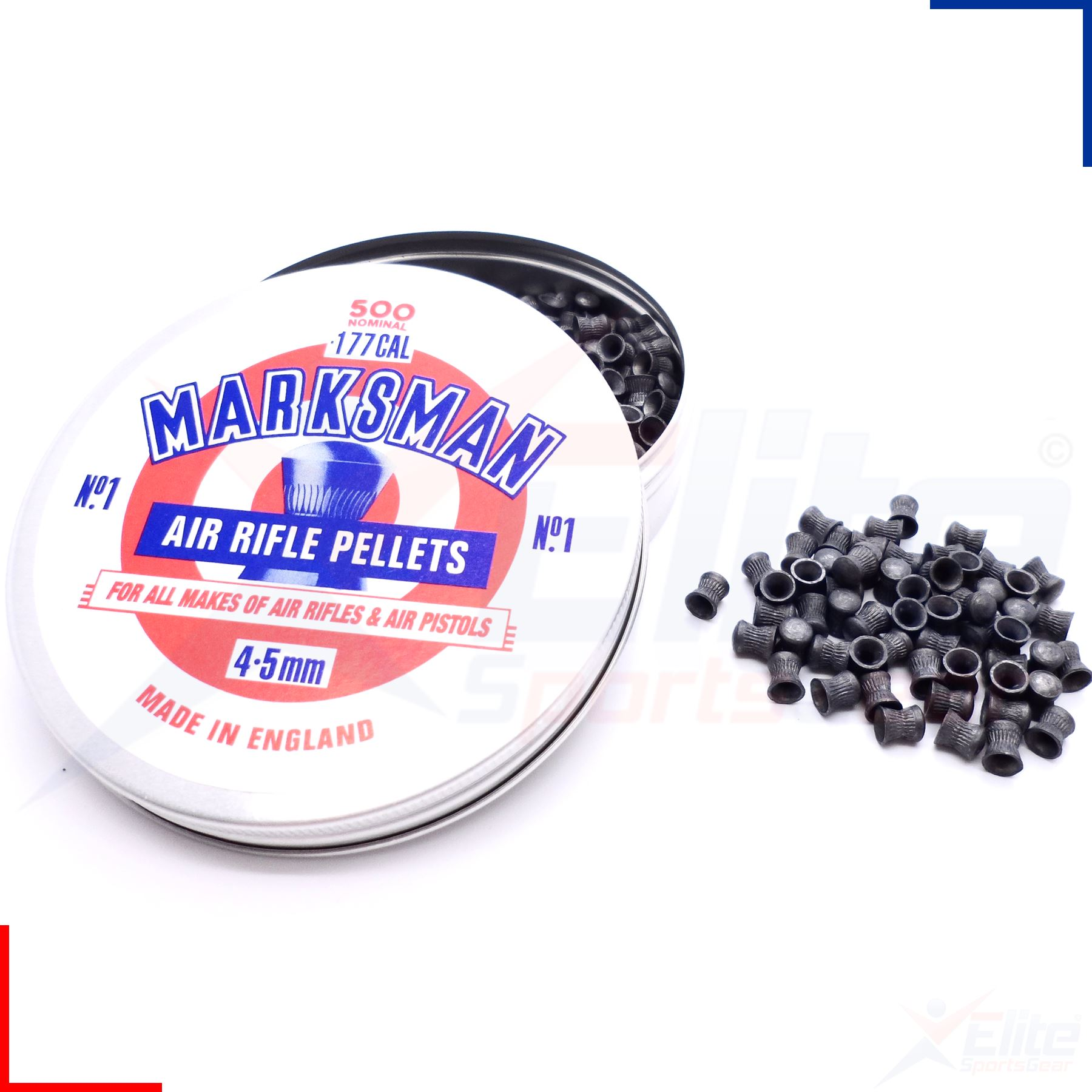 Pistol Rifle shooting hunting Details about  /100 qty Marksman Air Gun Pellets .177 Domed