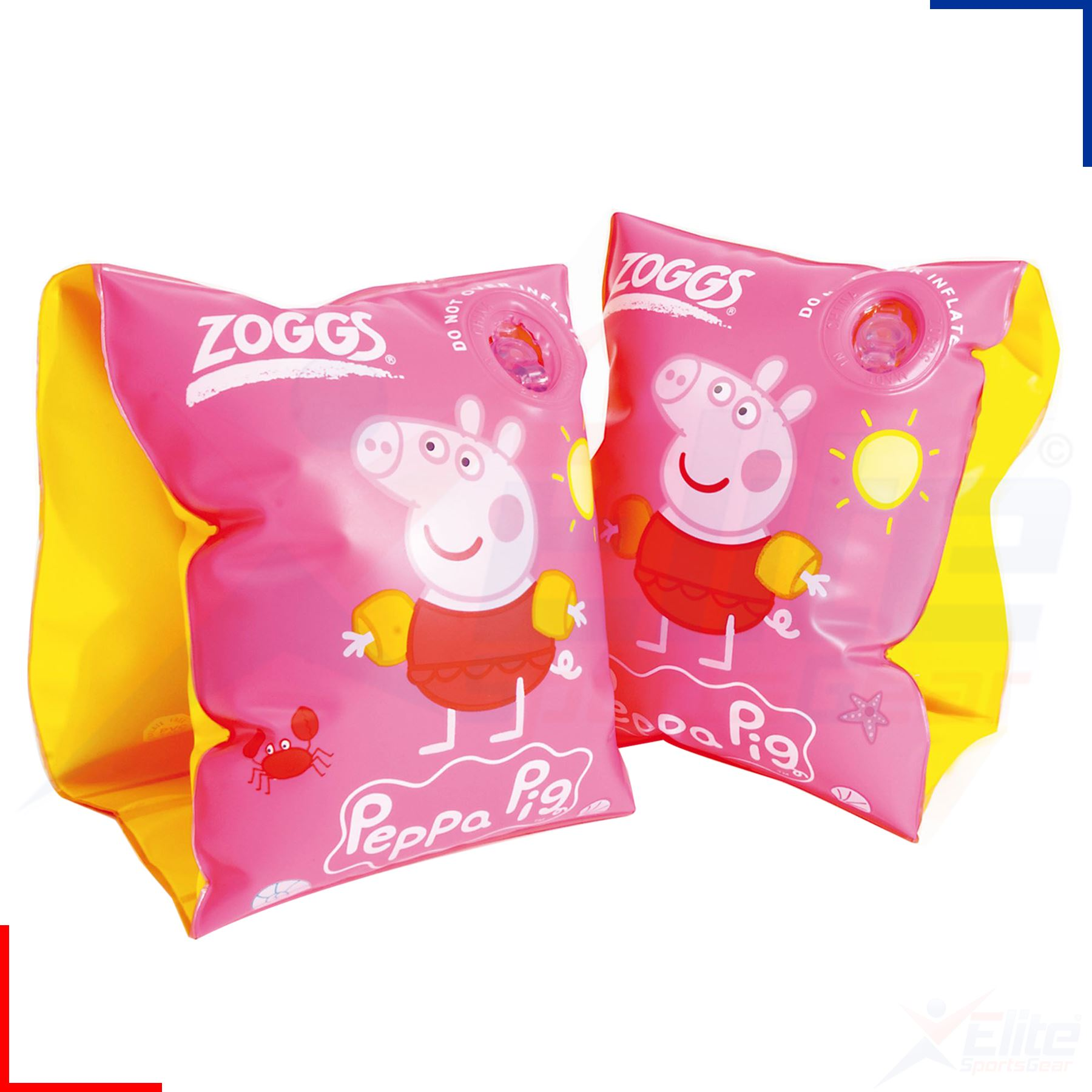 Zoggs Peppa Pig George Kids V Arm Bands Swimming Pool Inflatable Floats Aids Ebay
