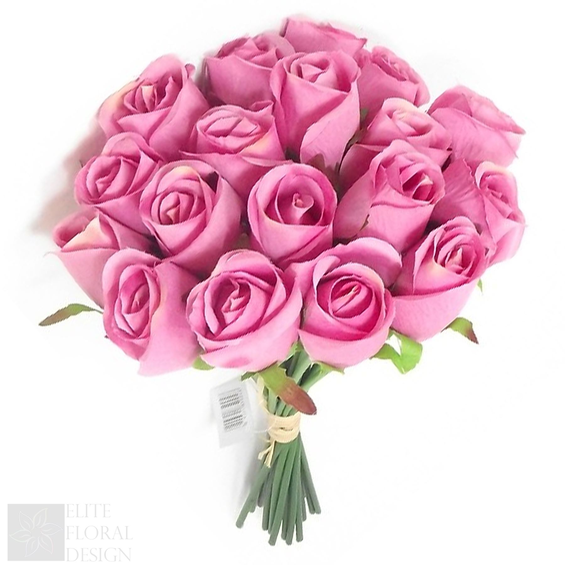 30cm Artificial Silk Roses 18 Heads Wedding Flowers Bridal Bouquets ...
