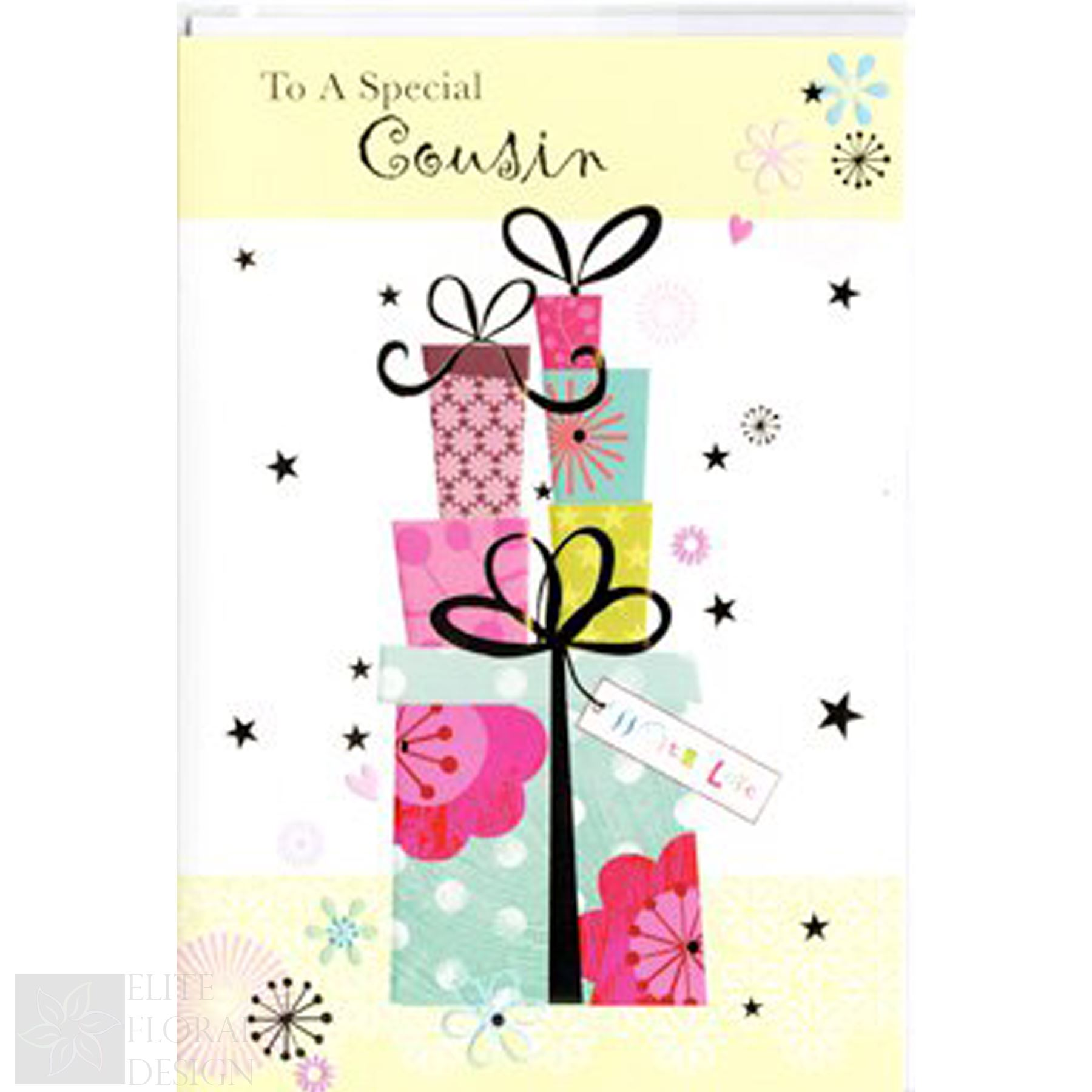 Details About Happy Birthday Greeting Card