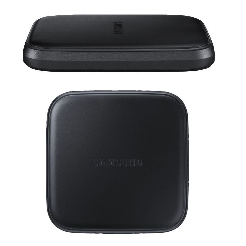 genuine samsung galaxy s8 s8 plus black qi wireless charger charging plate pad ebay. Black Bedroom Furniture Sets. Home Design Ideas