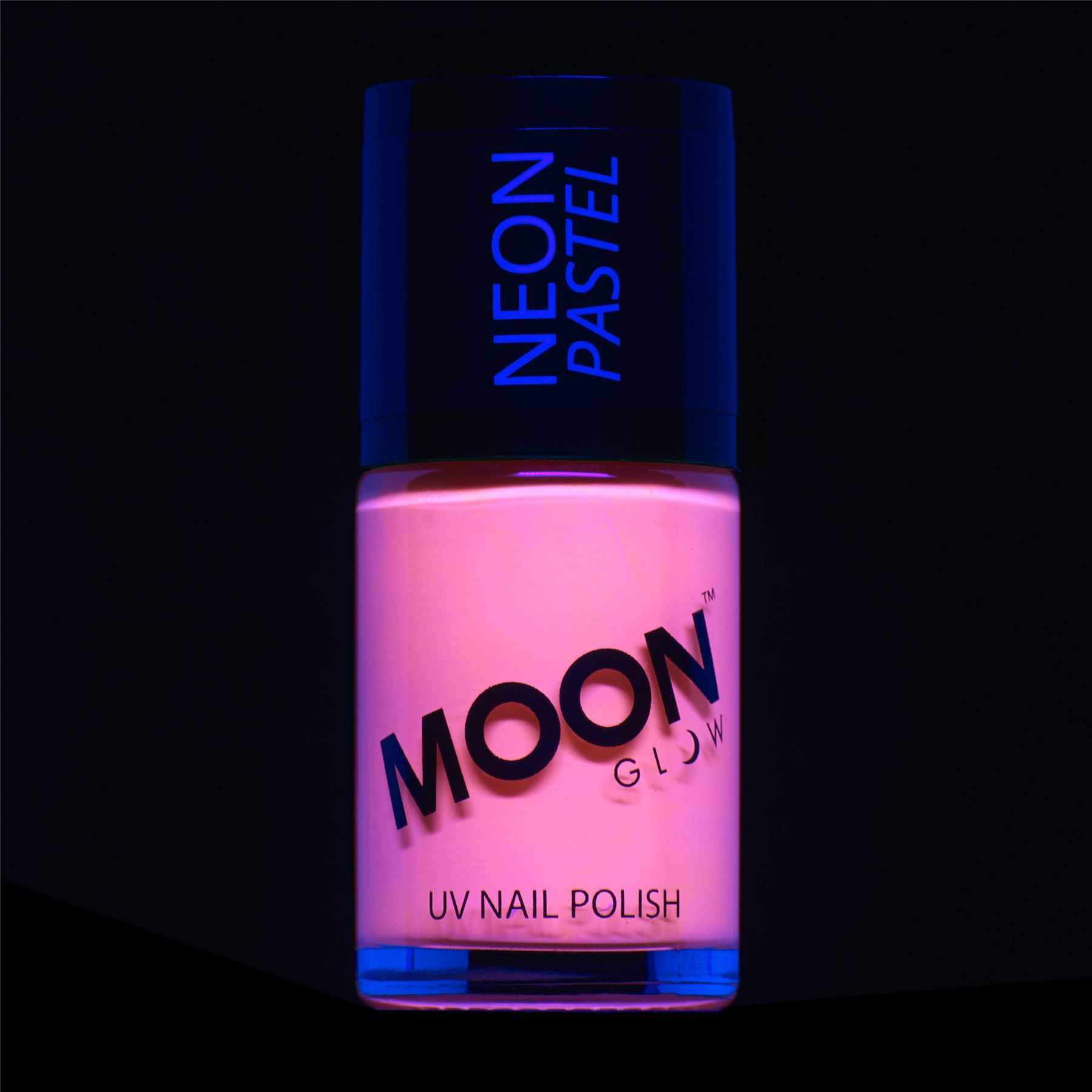 Moon Glow - Neon UV Nail Varnish - Choose from 16 colours - glows ...