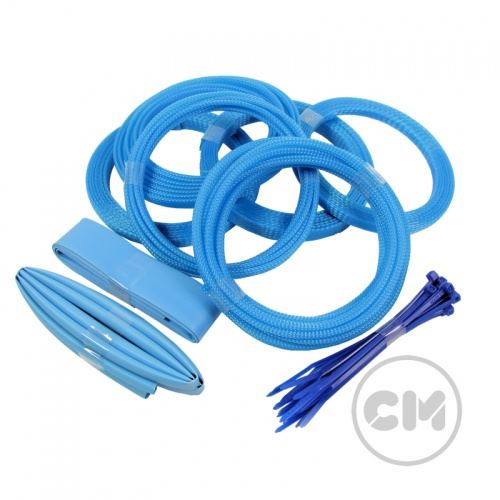 Cable-Modders-U-HD-High-Density-Braid-Sleeving-Kits-10-Different-colours thumbnail 2