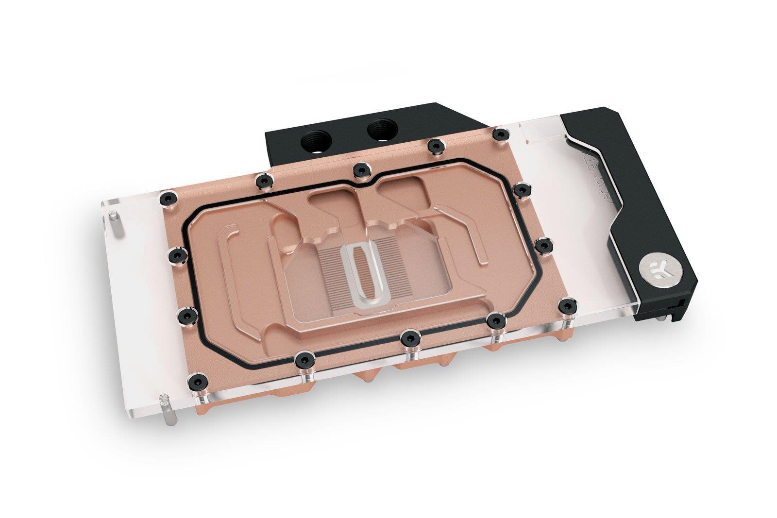 Nvidia Geforce RTX 3080 and RTX 3090 EK water block Copper Acrylic