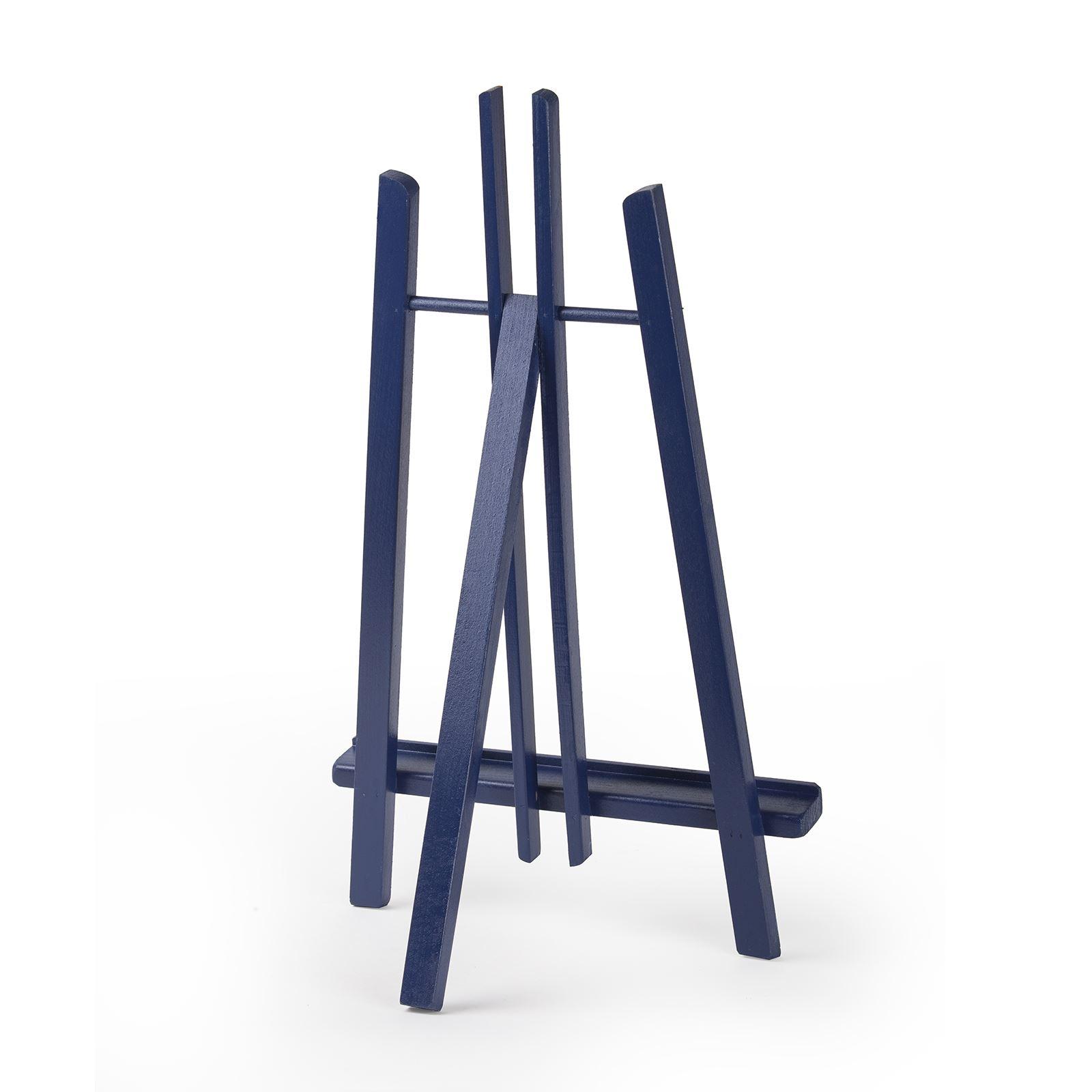 "Beech Wood Violet Colour Table Top Display Easel 390mm 16/"" A4 Quantum Art"