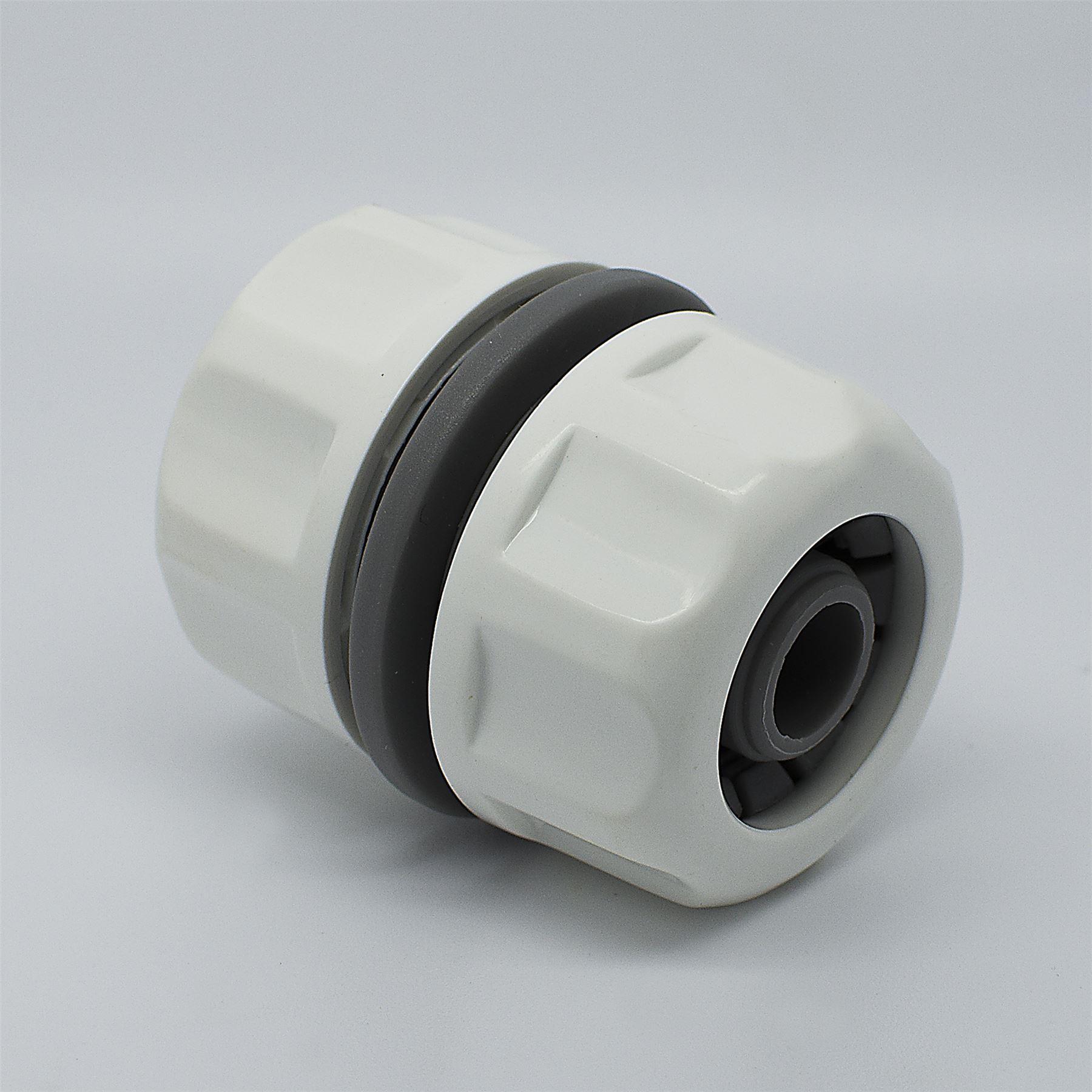"""Hozelock Compatible 1//2/"""" rapide tuyau de tube en métal solide Connecteur"""
