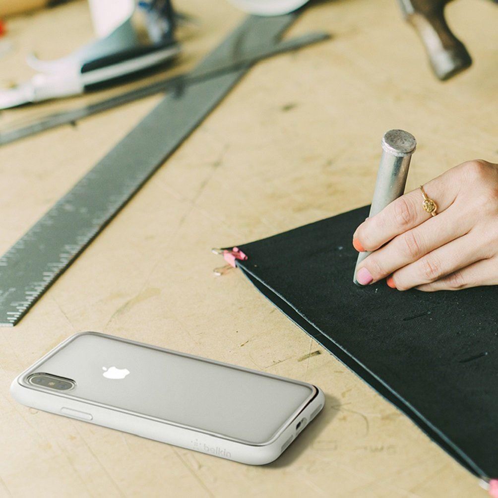 Indexbild 22 - Belkin sheerforce Elite Drop schützende resistente transparente Schutzhülle für iPhone x