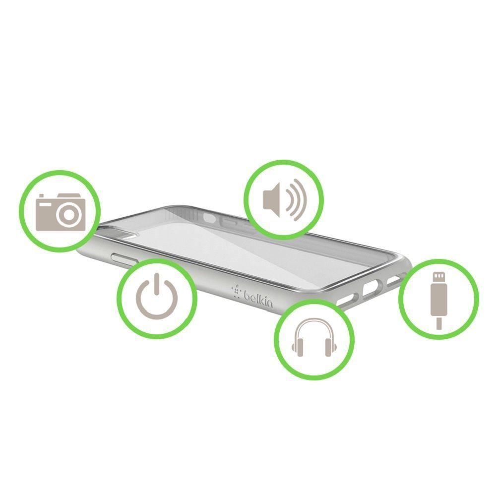 Indexbild 18 - Belkin sheerforce Elite Drop schützende resistente transparente Schutzhülle für iPhone x