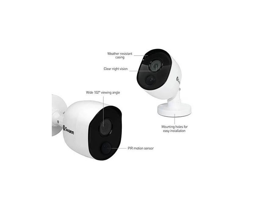 Swann-PRO-1080MSB-2mp-1080P-Multi-Purpose-Day-Night-Security-CCTV-Bullet-Camera thumbnail 20