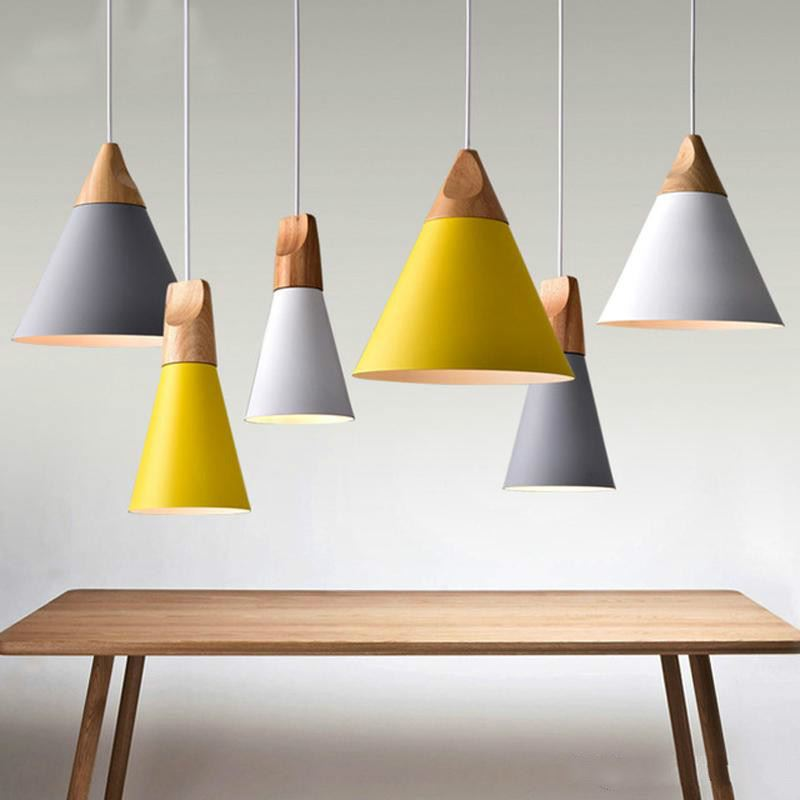 Slope Lamp Pendant Ceiling Light Contemporary Nordic