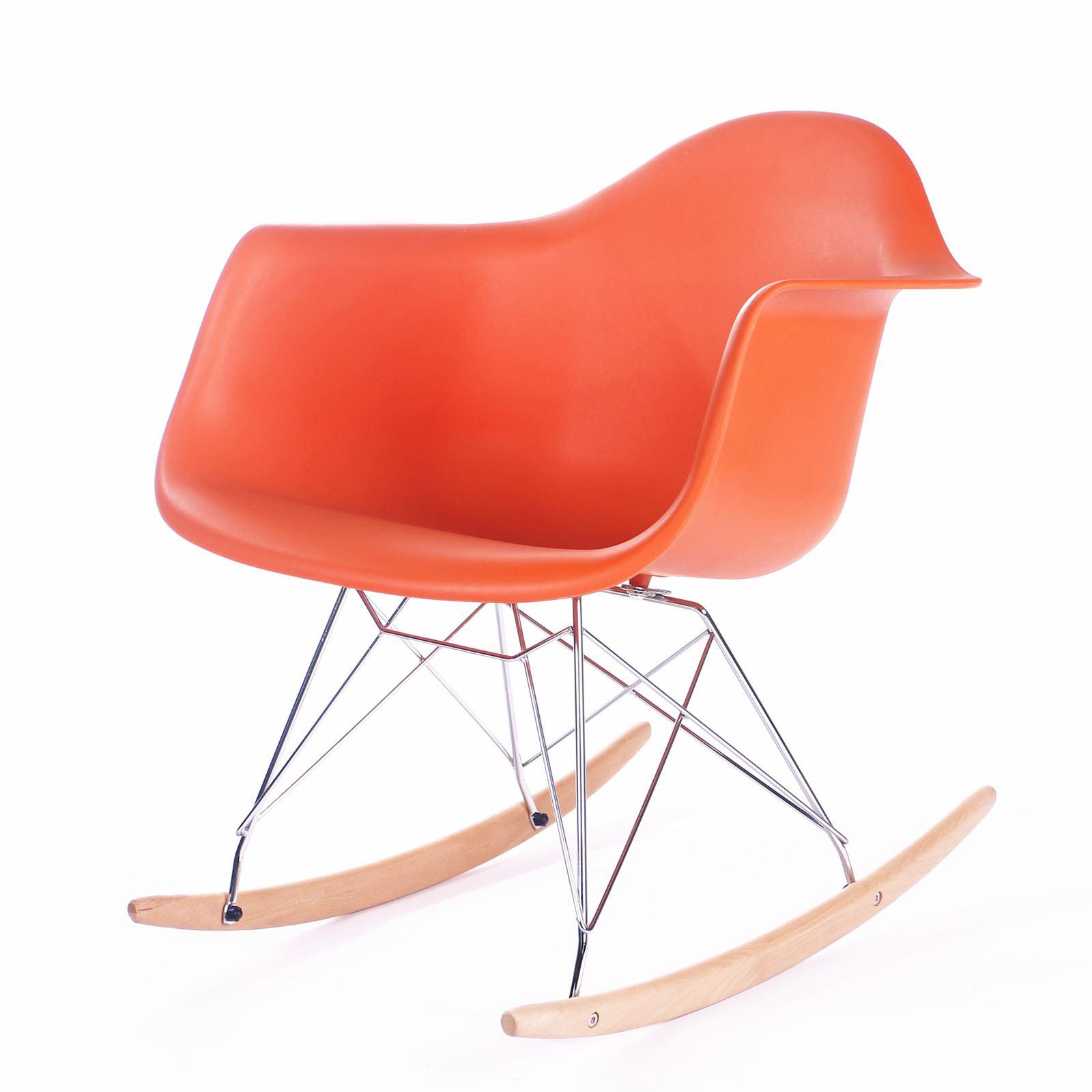 Eames Eiffel Inspired Clear RAR Side Dining Chair Retro