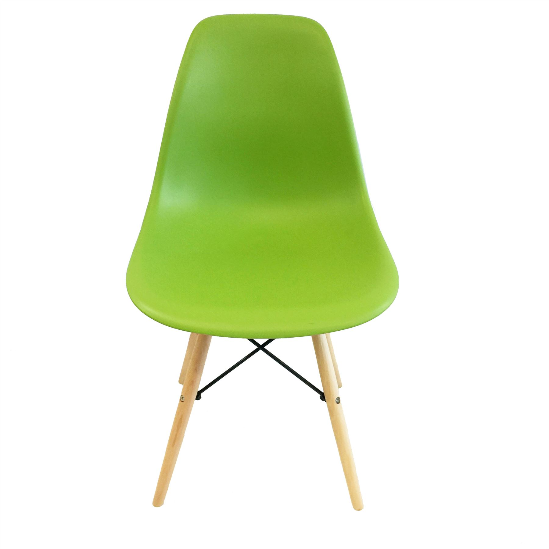 Retro Dining Chairs DSW Eiffel Inspired Wooden Legs