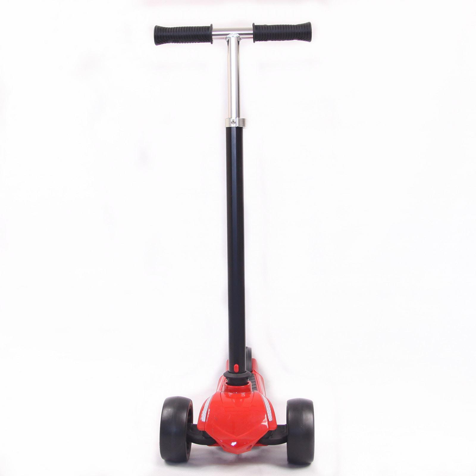 3 rad scooter f r erwachsene und kinder kick push stunt. Black Bedroom Furniture Sets. Home Design Ideas