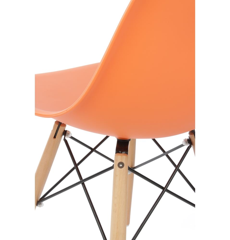 Modern plastic chairs - Charles Ray Eames Eiffel Inspired Dsw Dining Chair