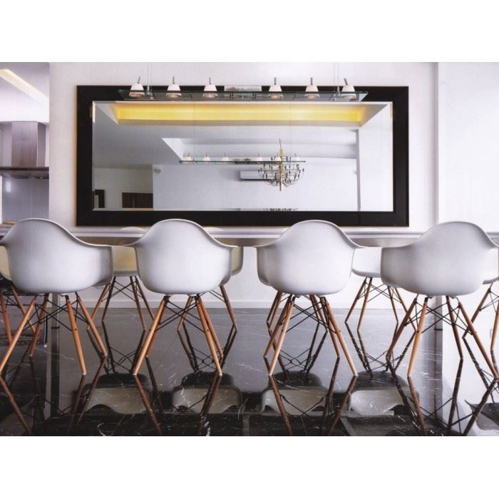 Charles ray eames daw armchair replica dining chairs for Eames plastic chair replica