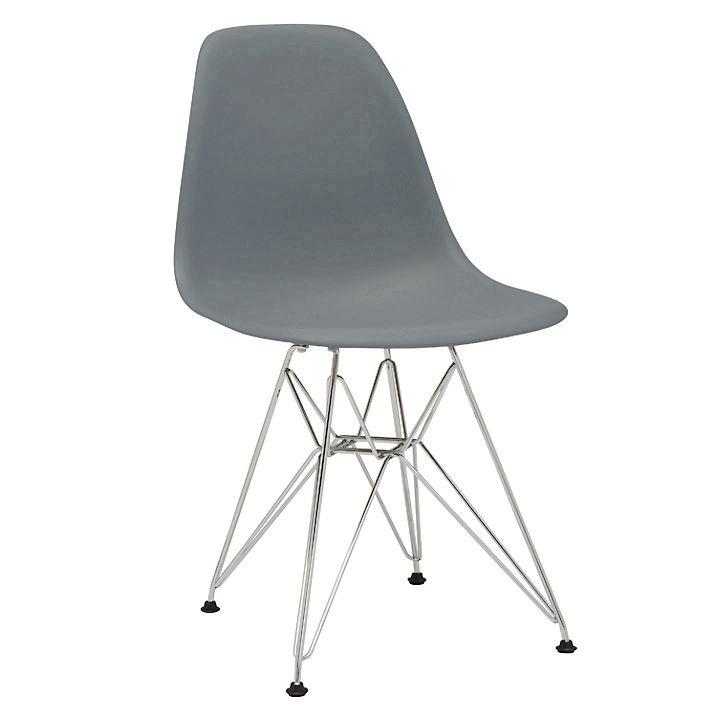 Charles ray eames eiffel inspired dsw dsr side dining chair retro design - Eames dsw eiffel chair ...