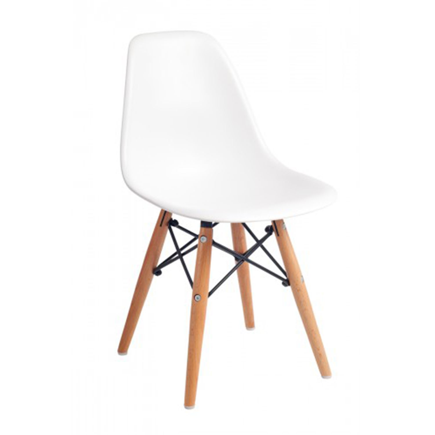 Kids Eames DSW Eiffel White Dining Chair And Table Set