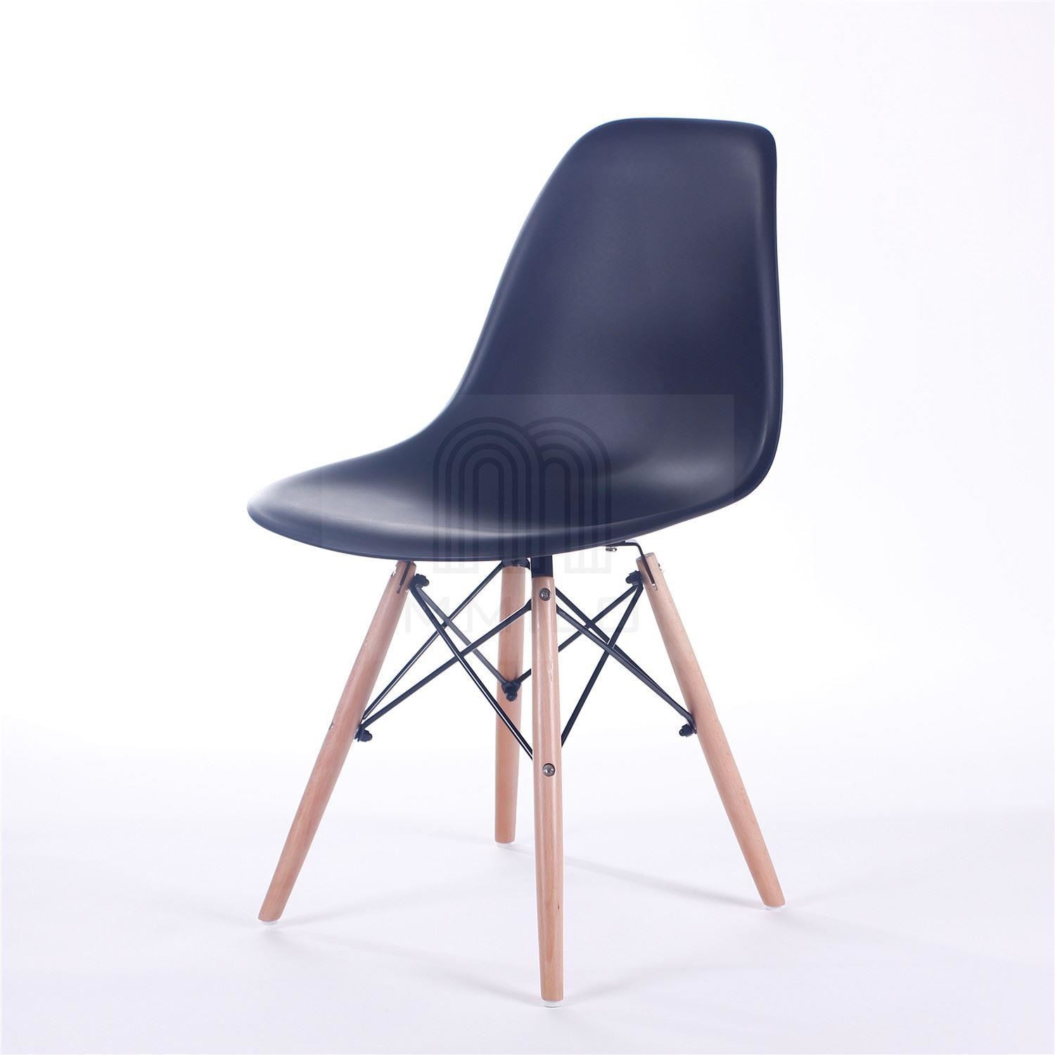 charles ray eames eiffel inspired dsw dining chair retro design contemporary ebay. Black Bedroom Furniture Sets. Home Design Ideas