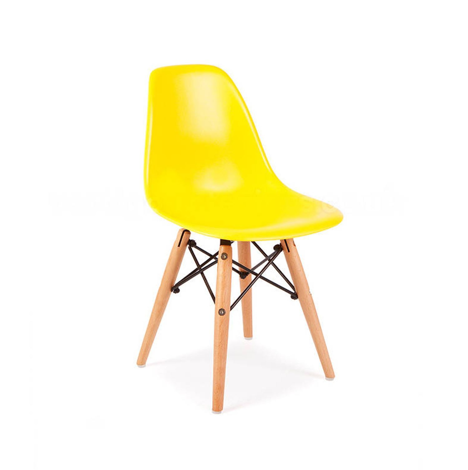 Set of 2 DSW Kids Chair With Eiffel White Table Children s Eames