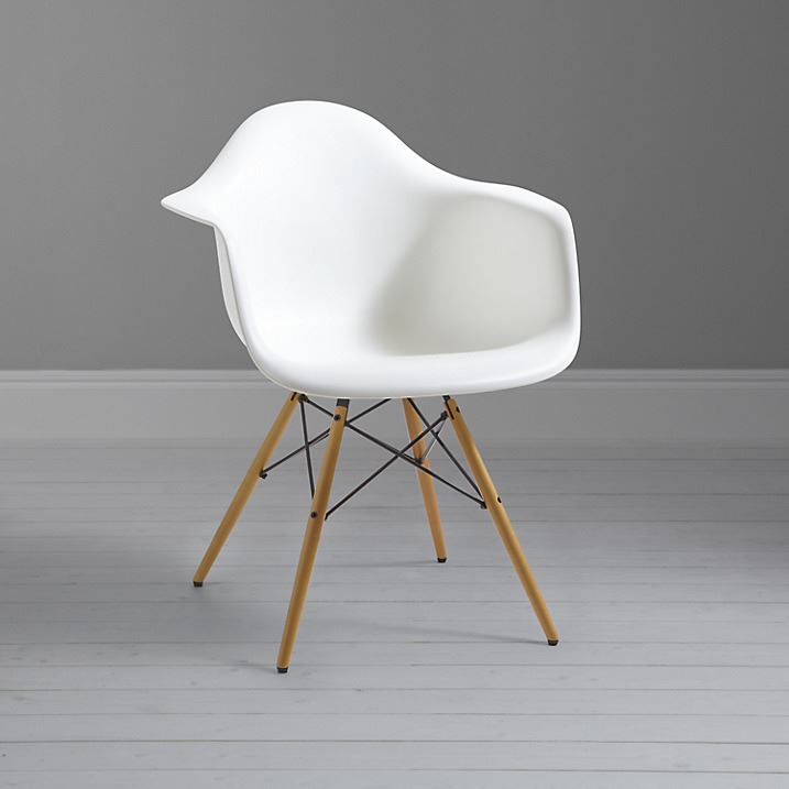 charles ray eames eiffel inspired daw side dining chair retro in