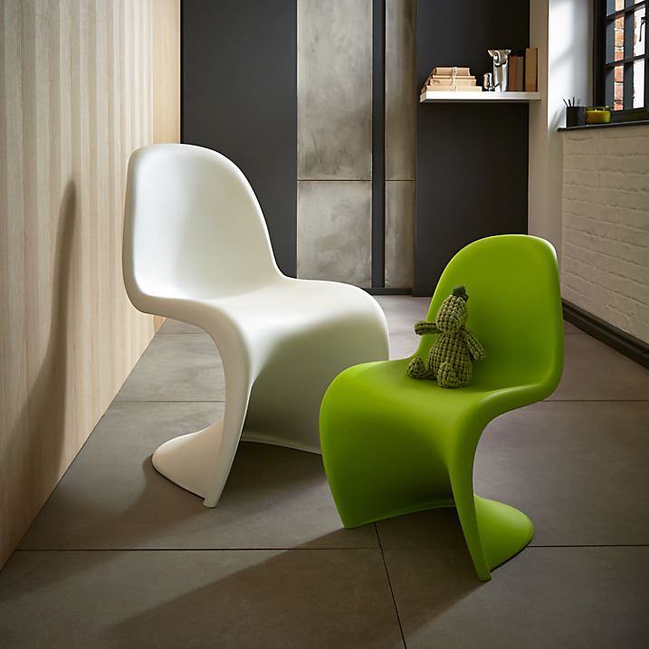 4 dining chair panton s chair replica modern contemporary plastic