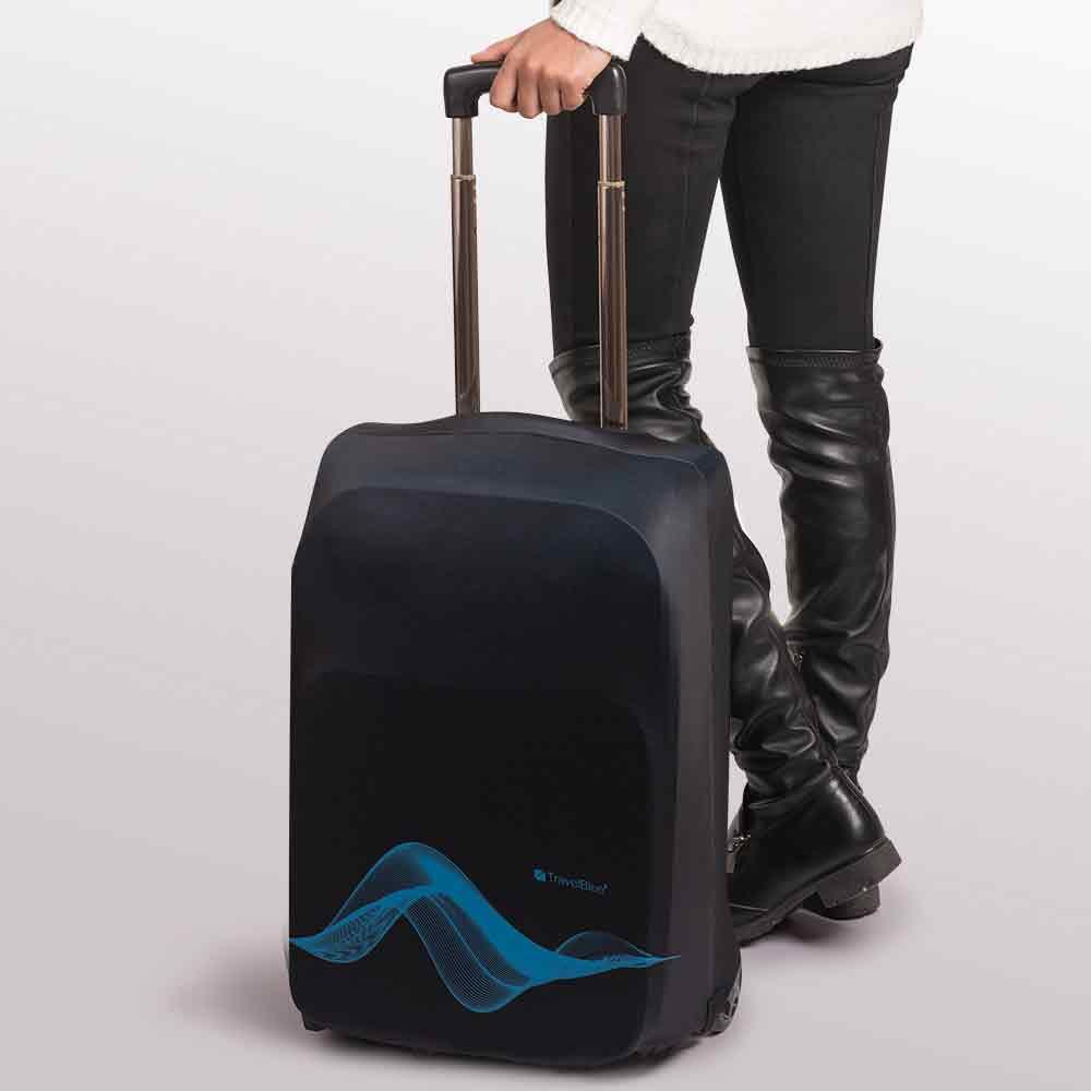 Travel-Blue-Luggage-Cover-Washable-Suitcase-Baggage-Protection-Protective-Wrap thumbnail 3