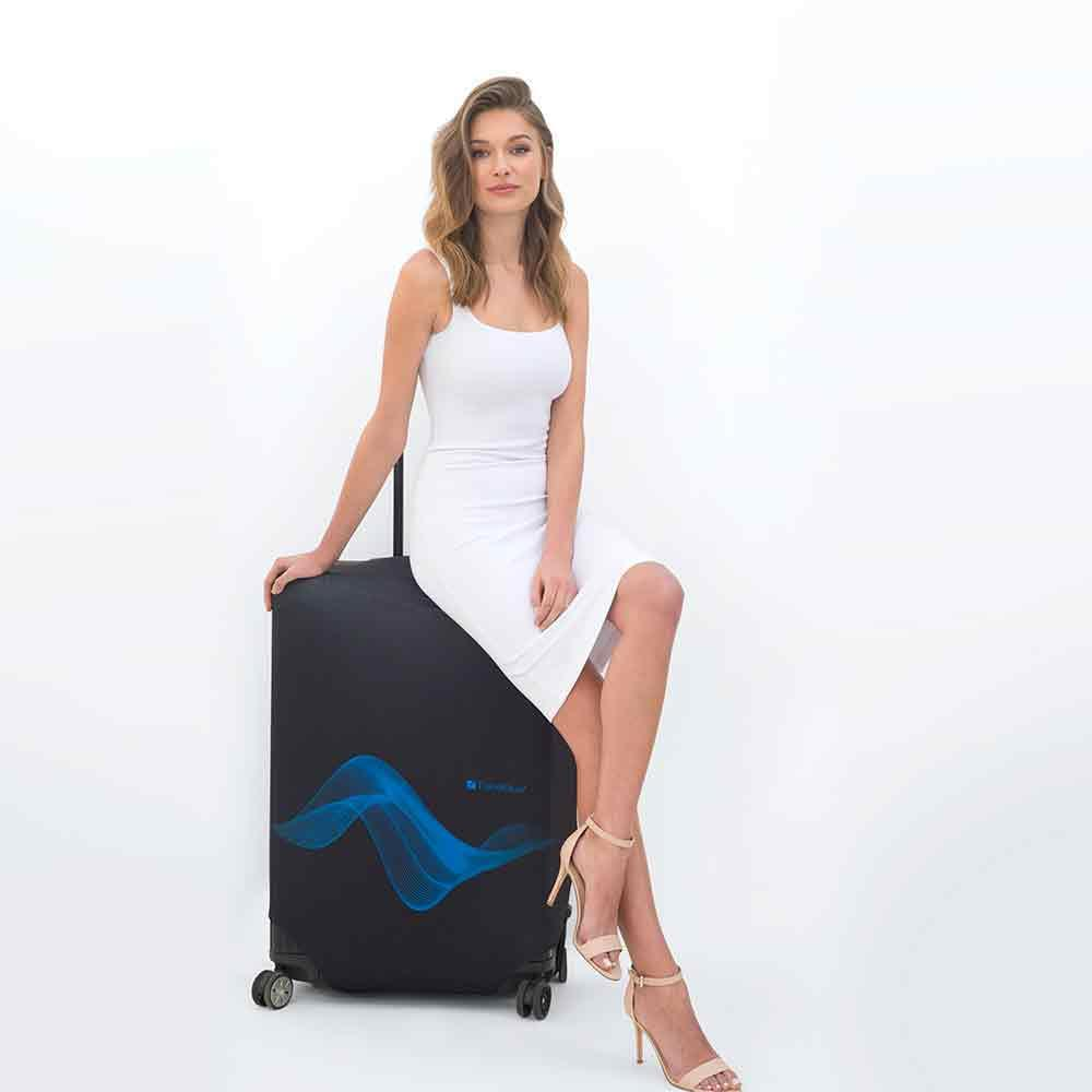 Travel-Blue-Luggage-Cover-Washable-Suitcase-Baggage-Protection-Protective-Wrap thumbnail 8