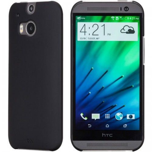 Genuine-Case-Mate-Barely-There-Slim-Hard-Shell-Case-Cover-for-HTC-One-M9-Black