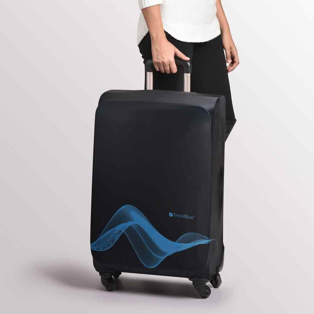 Travel-Blue-Luggage-Cover-Washable-Suitcase-Baggage-Protection-Protective-Wrap thumbnail 5