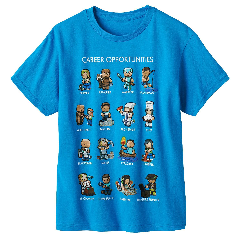 Minecraft star wars angry birds frozen kids t shirts shirt for Mine craft t shirt