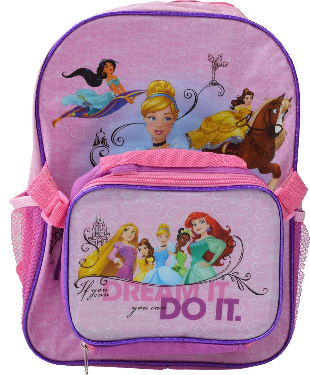 c958c3bcb68 Princess Junior Backpack with Lunch Bag 5055114331866