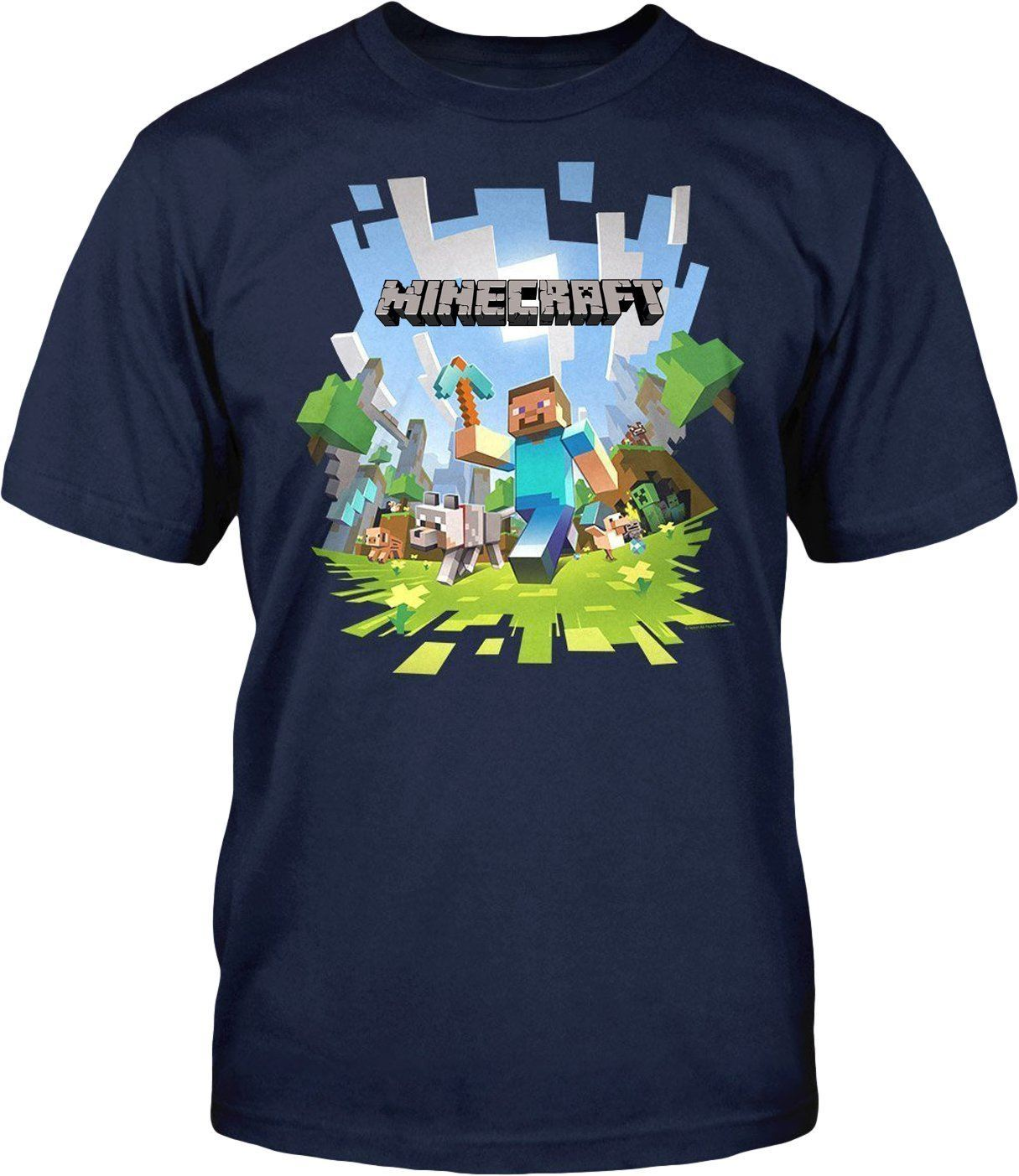 Official minecraft t shirts mine craft adult tshirts for Crafts that sell on ebay