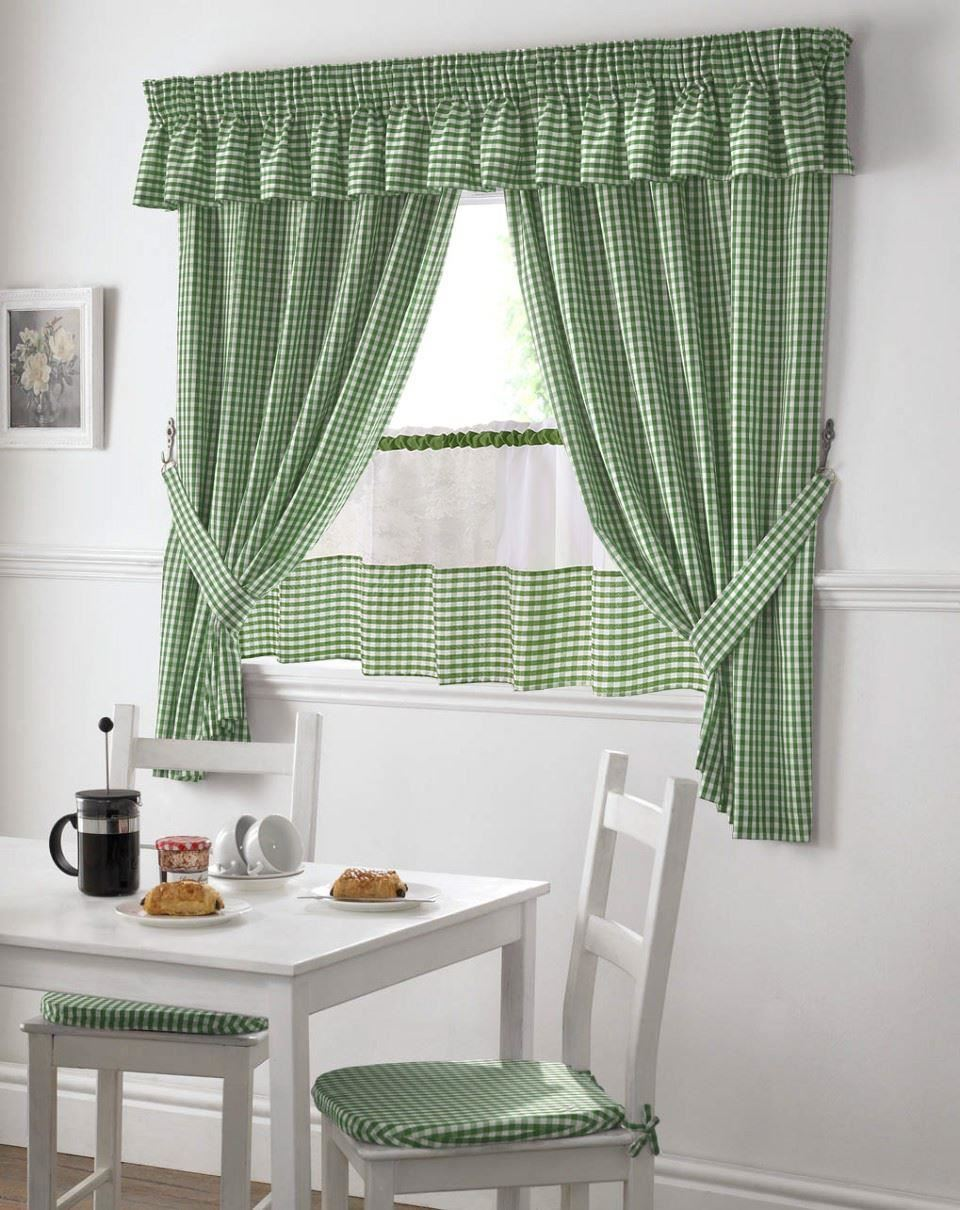 green and white kitchen curtains green and white gingham kitchen curtains pelmet amp 24 cafe 6925