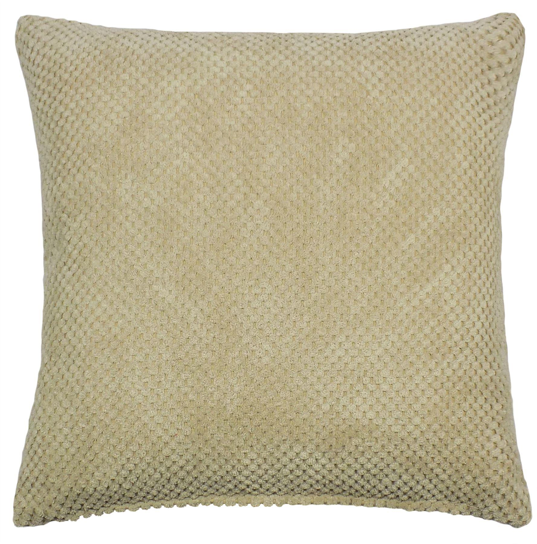 """Thick Chenille Geometric Cushion Covers 17/"""" 43 cm SALE PRICE RRP £7"""