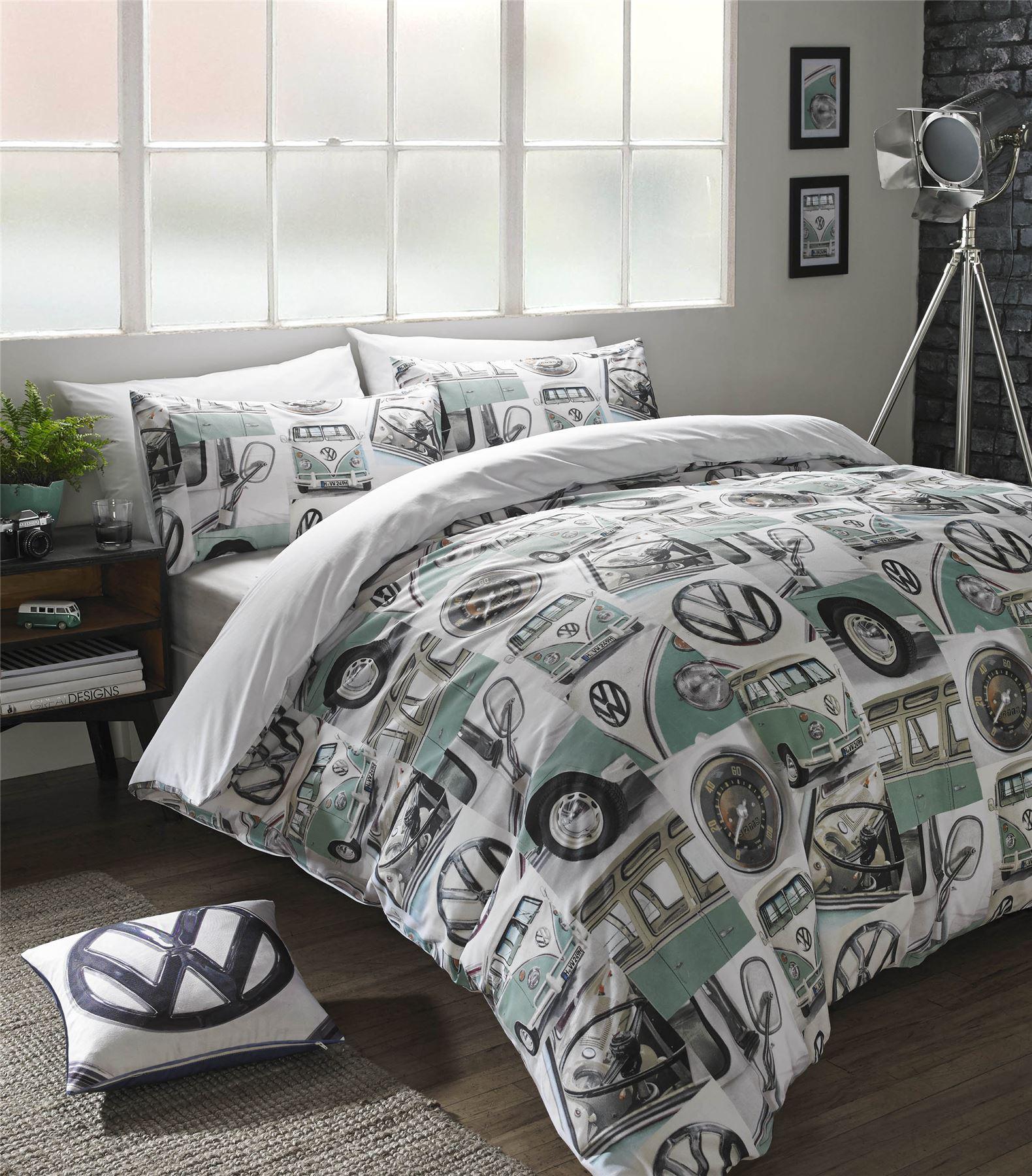 Bettwäsche Mintgrün klassisch wohnmobil flickwerk mintgrün grau doppelbett bettwäsche ebay