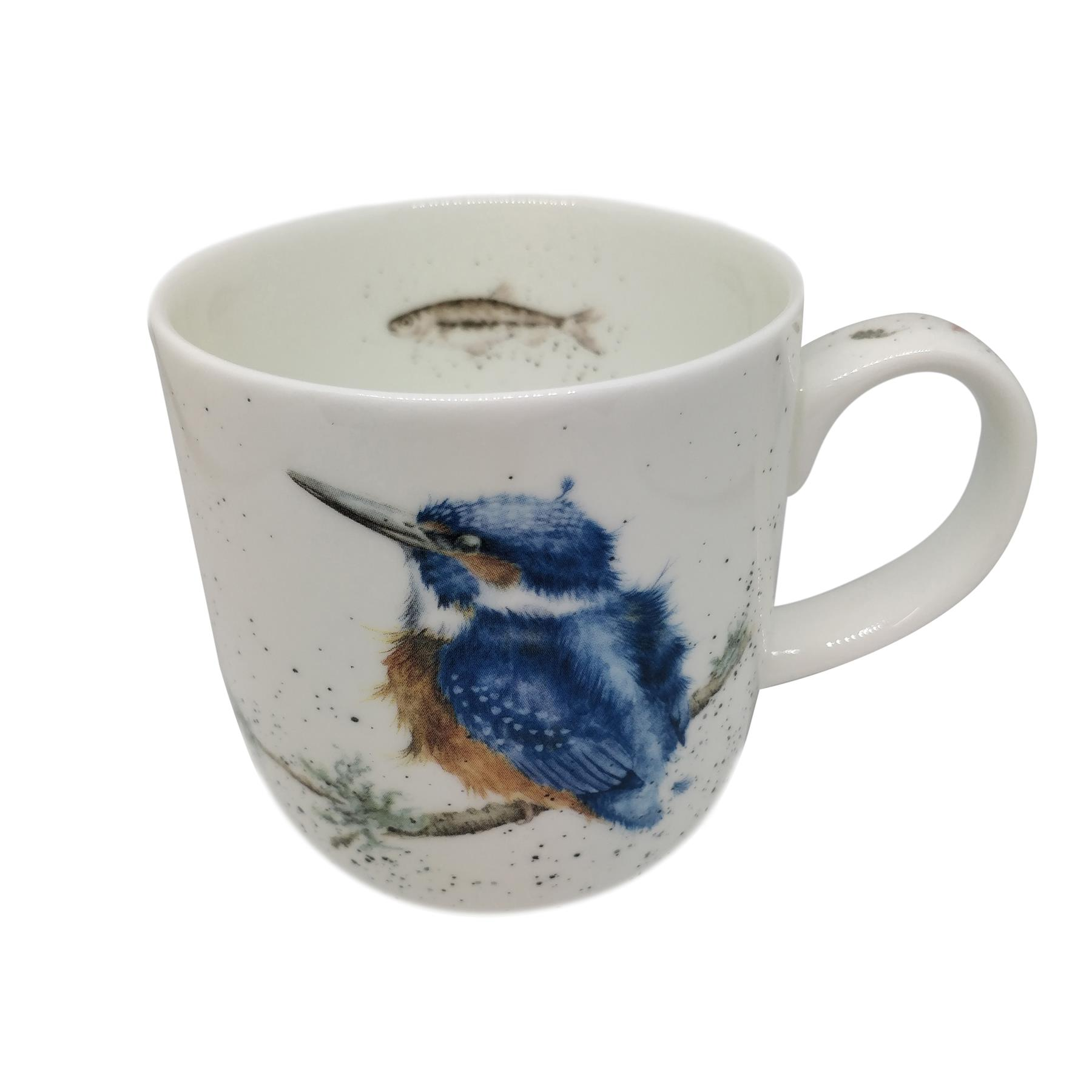 Verpackt Wrendale Offiziell Lizenziert Süße Eulen Feines Porzellan Tasse