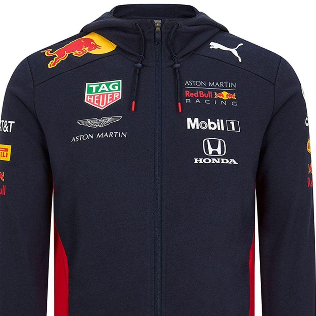 Aston Martin F1: Aston Martin Red Bull Racing Zip Hoodie F1 Puma Team