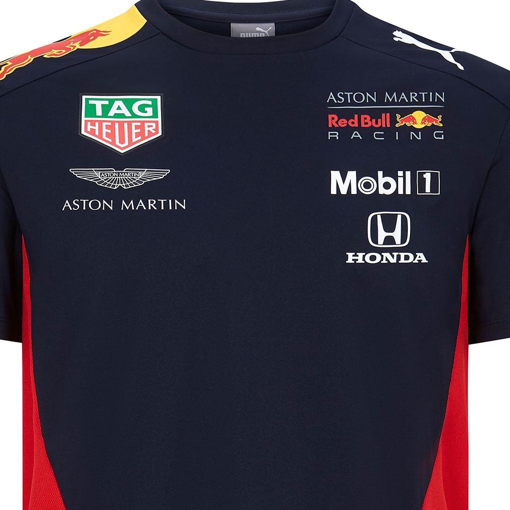 Aston Martin Team T-shirt Red Bull Racing F1 Puma Official