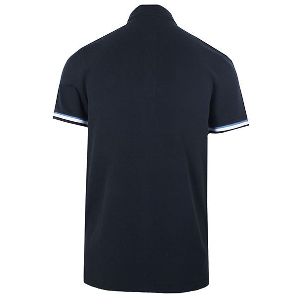 40379aee HUGO BOSS POLO SHIRT PRINTCAT MENS NAVY TOP | eBay