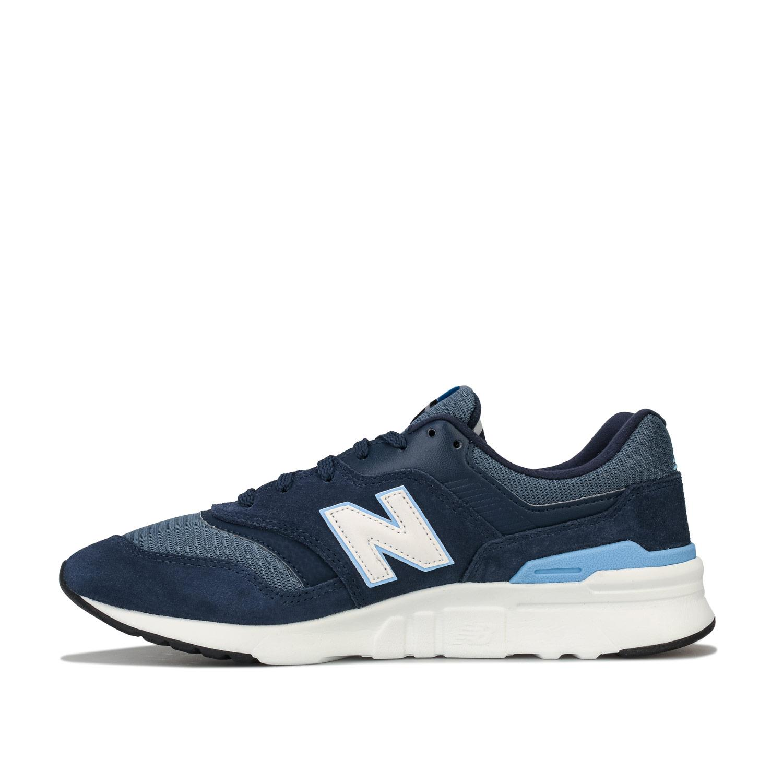 Homme-New-Balance-997-H-Running-Baskets-En-Bleu-Marine-et-Gris miniature 13