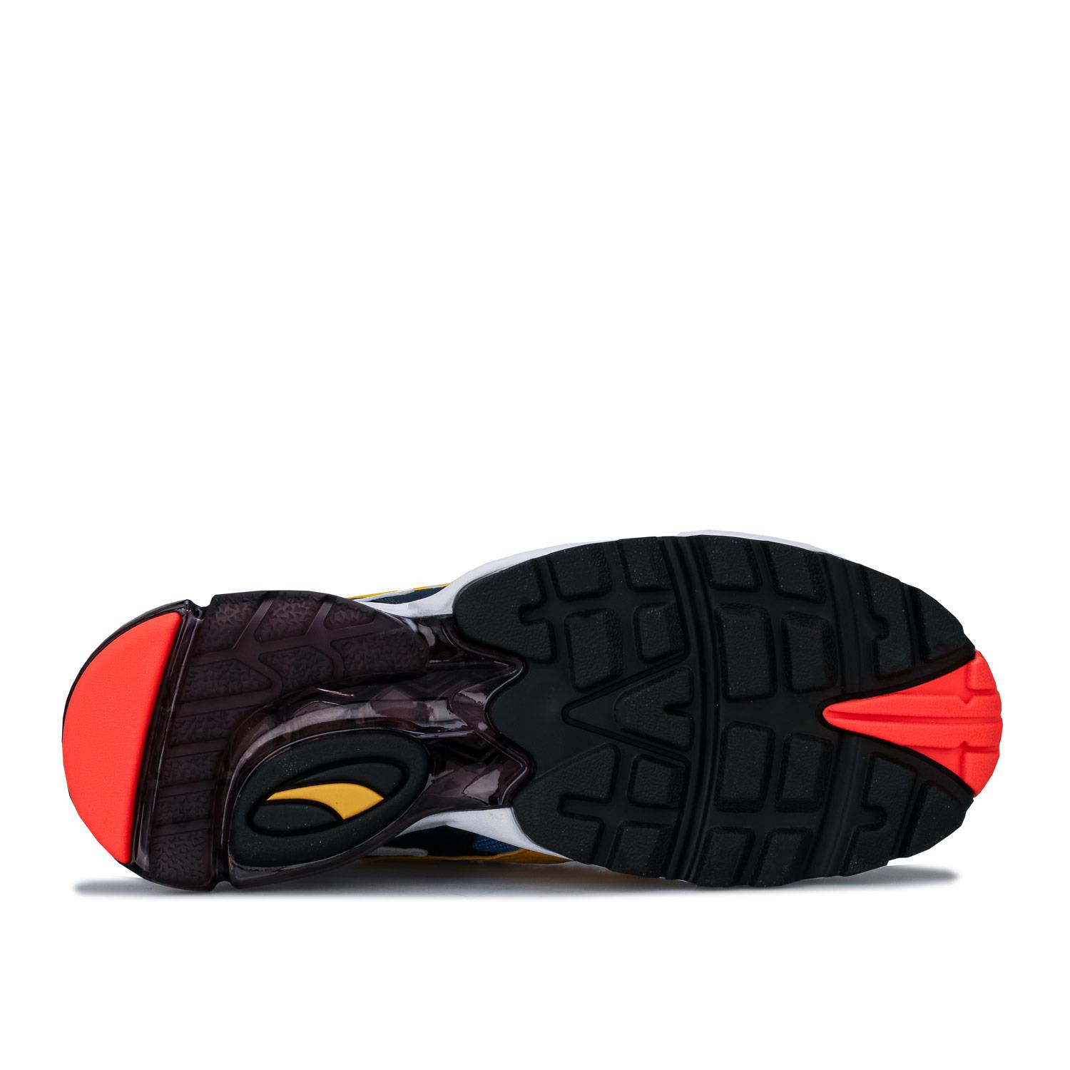 Mens-Puma-Cell-Alien-OG-Trainers-in-Blue-Green-Black-Red-Blue-and-Yellow thumbnail 11