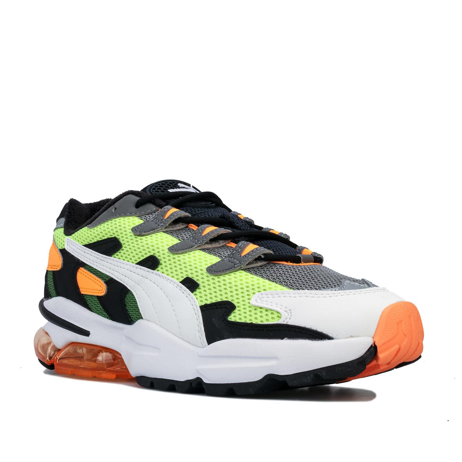 Mens-Puma-Cell-Alien-OG-Trainers-in-Blue-Green-Black-Red-Blue-and-Yellow thumbnail 21