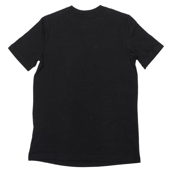 Women/'s Only Nova Lux Round Neck Short Sleeve Top in Black