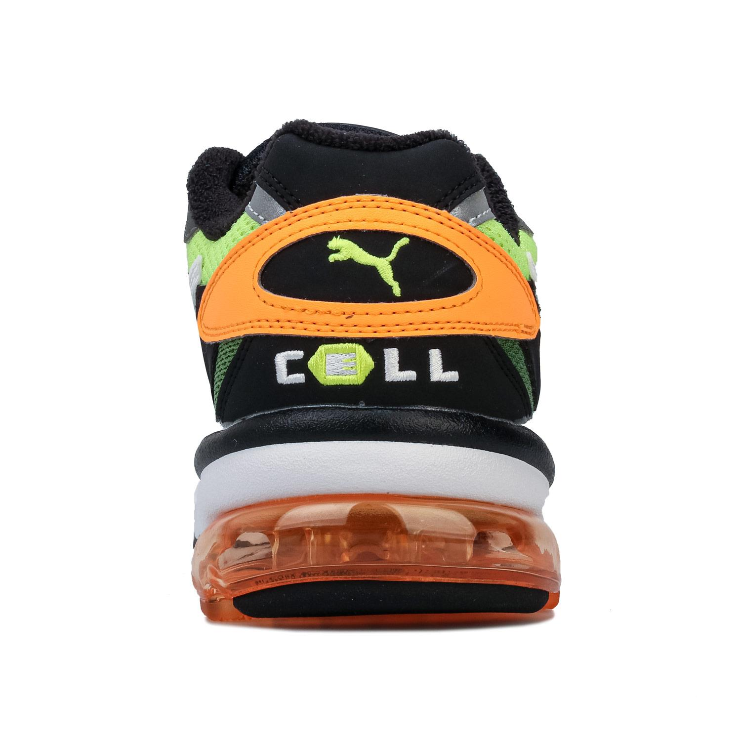 Mens-Puma-Cell-Alien-OG-Trainers-in-Blue-Green-Black-Red-Blue-and-Yellow thumbnail 24