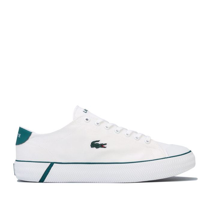 Mens Lacoste Angha 418 Cushioned Low Profile Trainers In White