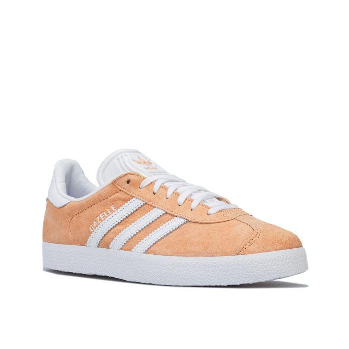 Women's adidas Originals Gazelle Lace Up Trainers in Orange   eBay