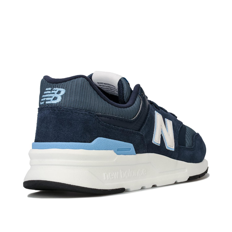 Homme-New-Balance-997-H-Running-Baskets-En-Bleu-Marine-et-Gris miniature 10