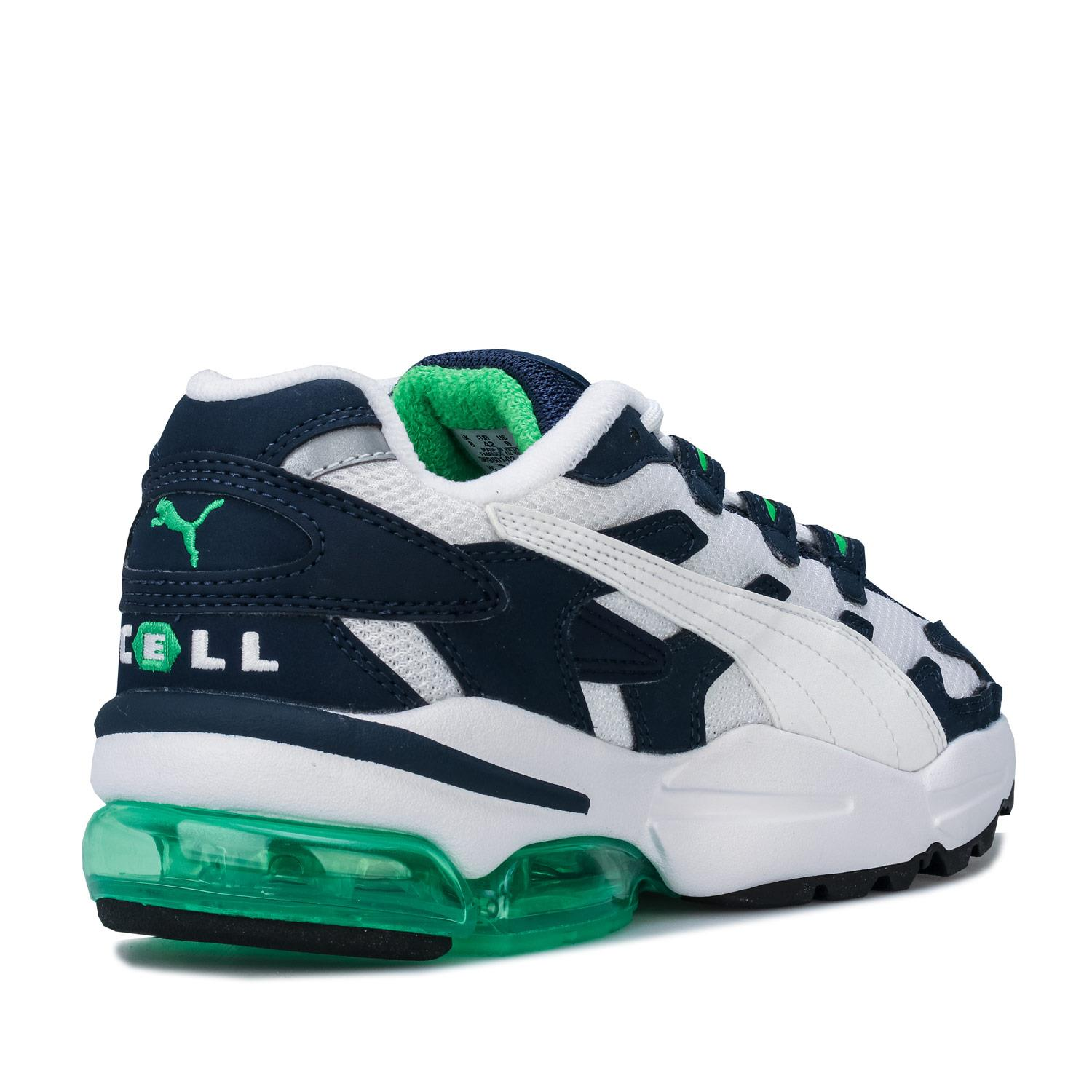 Mens-Puma-Cell-Alien-OG-Trainers-in-Blue-Green-Black-Red-Blue-and-Yellow thumbnail 16