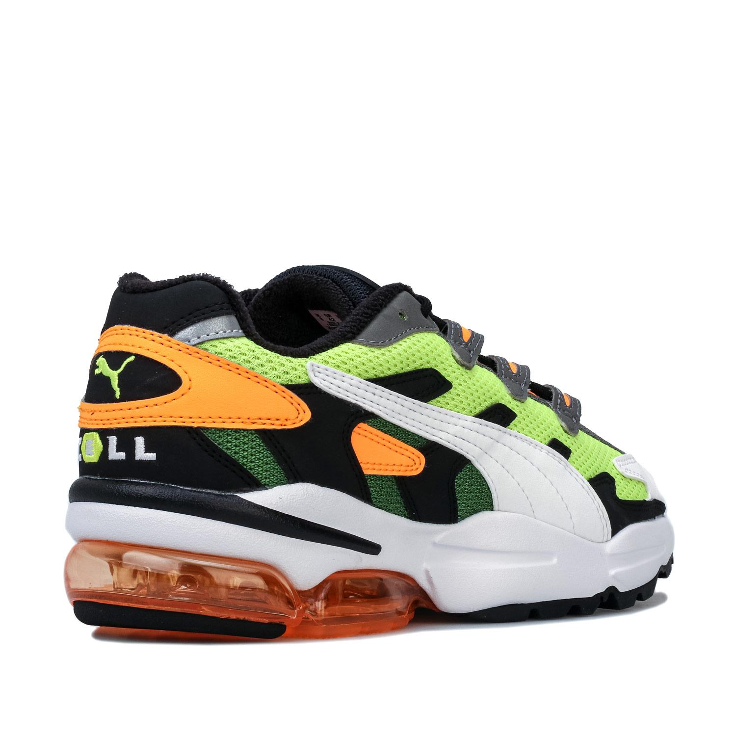 Mens-Puma-Cell-Alien-OG-Trainers-in-Blue-Green-Black-Red-Blue-and-Yellow thumbnail 22